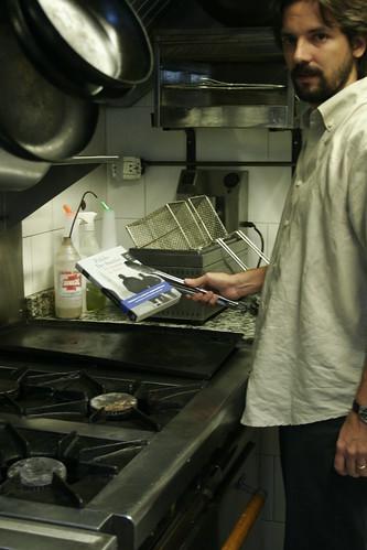 cocinando a de santis