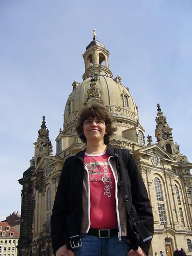 Gesa vor Frauenkirche