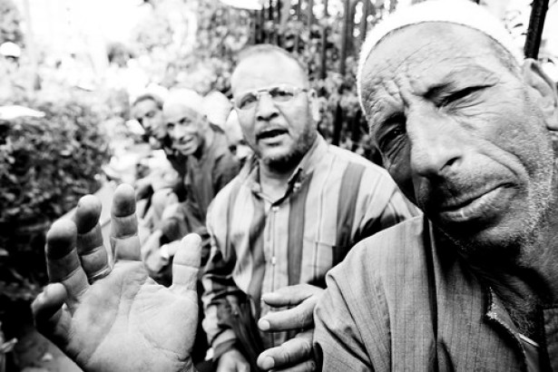 Nile Cotton Workers on Strike إعتصام عمال شركة النيل لحلج الأقطان