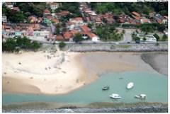 Capacitação dos pescadores deve durar cerca de três horas. Vista aérea da praia do Carmo. Foto: Antônio Melcop/ Pref.Olinda