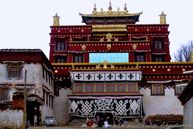 Buddhist Temple in Litang