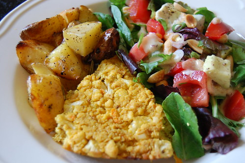 Curried Cauliflower Frittata
