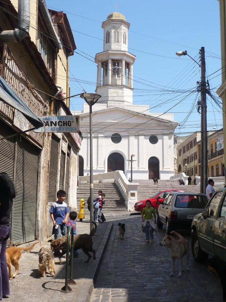 chuchos por Valparaíso