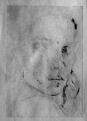 Drypoint - first proof (FP)