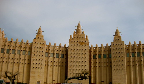 fake Djenne Mosque