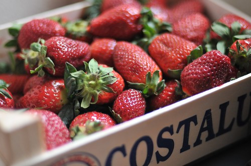 Strawberries from Spain