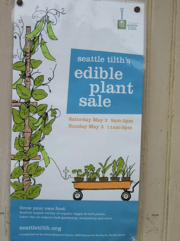 Edible Plant Sale Notice