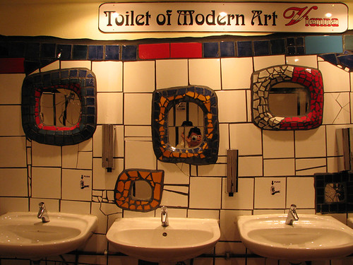 Toilet of Modern Art by you.