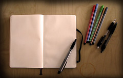 Blank page by Freidwall, on Flickr