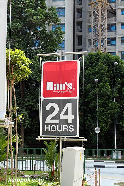 Hans at Buona Vista - 24 hours