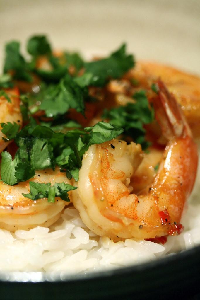 Vietnamese Caramel Shrimp
