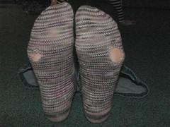 I killed my socks!