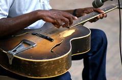 Guitar being played by Tom Walton: White Sprin...