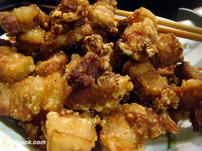 Swwet and Sour Pork before the sauce