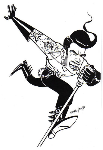 psychobilly singer by mario labate