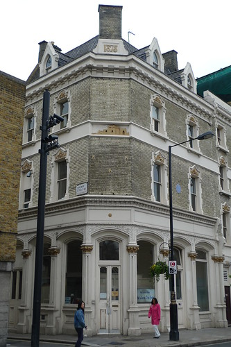 The Walmer Castle (Marylebone W1), now closed