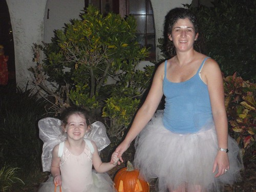mommy and dorothy in tutus