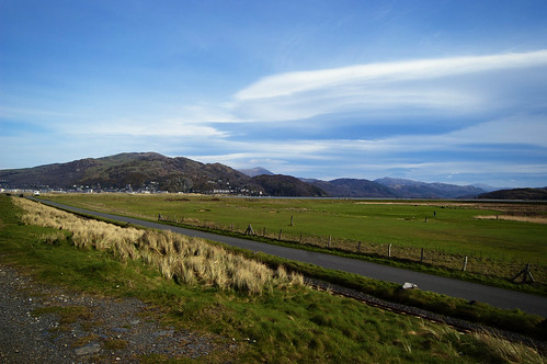 View from Fairbourne: Redux