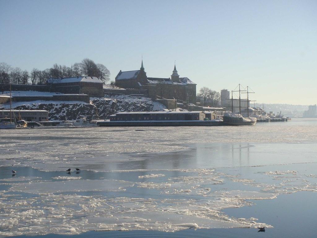 Fortaleza de Akershus, desde el Puerto