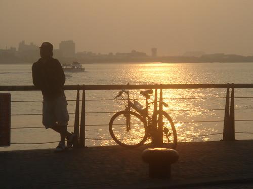 淡水夕陽19