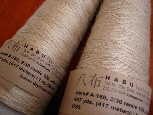 Habu A-166 Ramie
