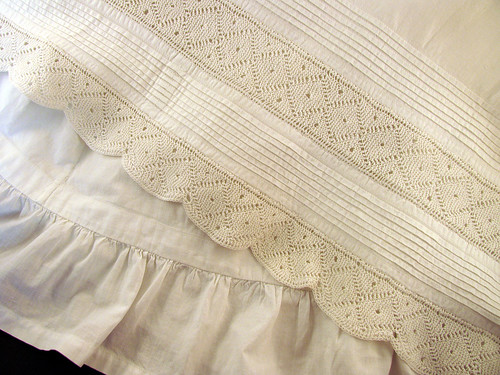 Tucks-Lace-Ruffles
