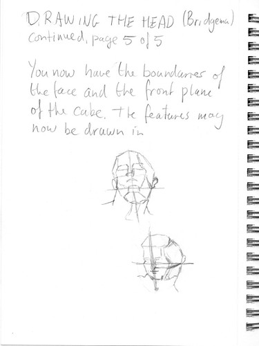Drawing the head according to Bridgman, part 5 of 5