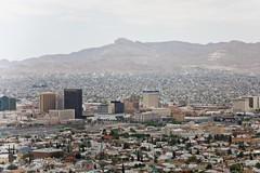 El Paso & Ciudad Juárez from Scenic Drive
