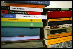 book pile