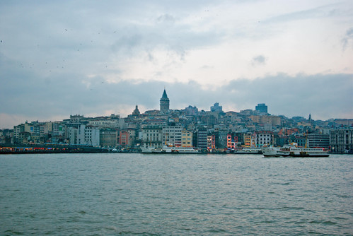 Karakoy, Galata Tower, İstanbul, Pentax K10d