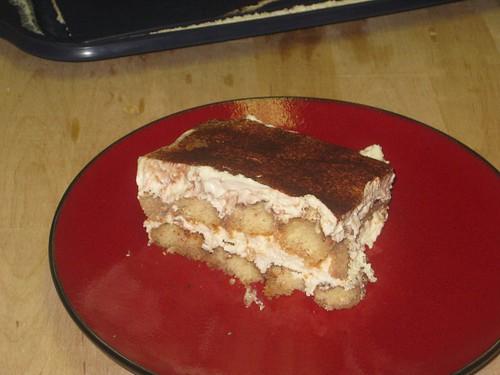 Cream cheese tiramisu