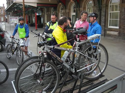 Bike loading at Chester