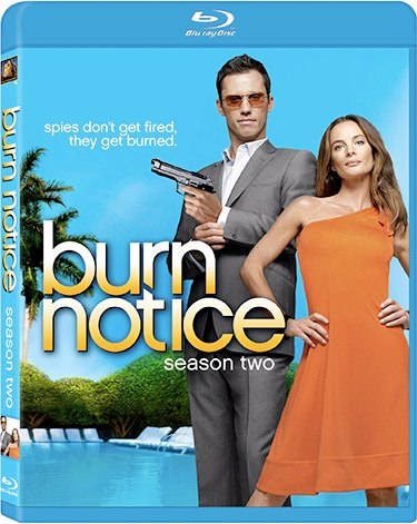Burn Notice Season Two on Blu-Ray