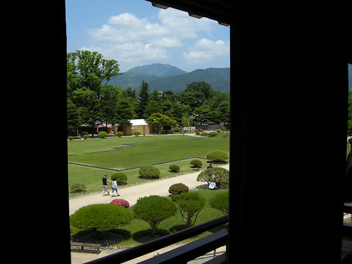 view seen from Matsumoto castle