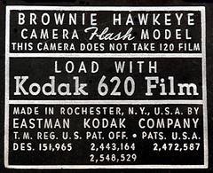 Kodak Film Label