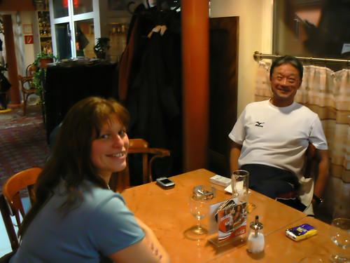 Margit & Shimizu sensei