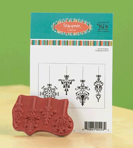 TaDa Creative Studios Dazzling Danglers stamp