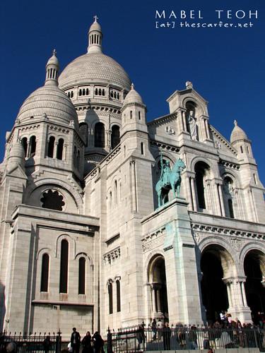 Sacred Coeur @ Montmartre