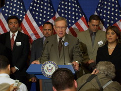 Harry Reid and Latino Leaders