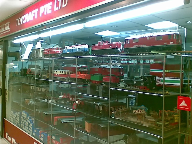 Samuel & Train Shop