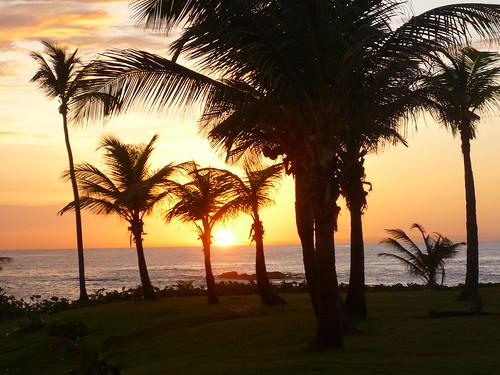 A Puerto Rican Midsummer sunset
