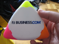 Business.com 3-sided Highlighter