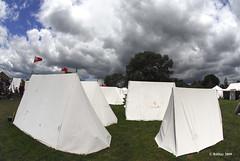 British encampment - Plains of Abraham Re-Enactment, Founders Day 2009, Ogdensburg, New York