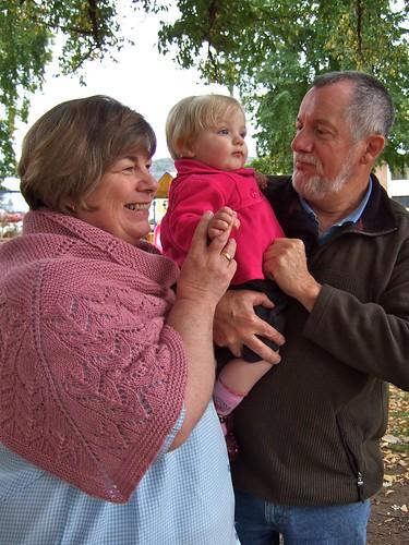 Mum, Dad and Alice