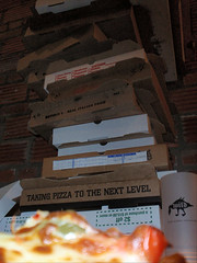 Taking Pizza to the Next Level: Pizza Box Jenga