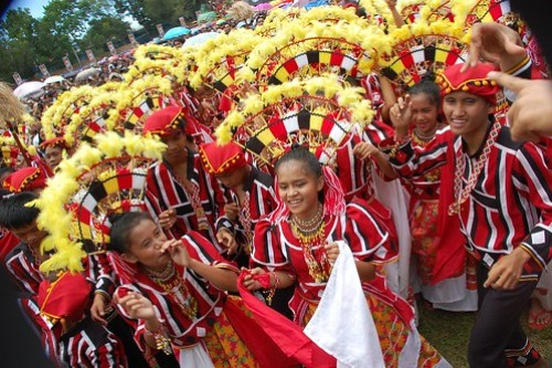 Kaamulan festival street dancing competition winners