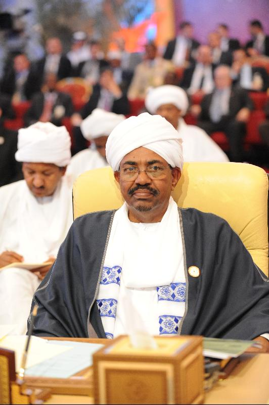 Sudanese president Omar al-Bashir. By Ammar Abd Rabbo, Creative Commons license via Flikr.