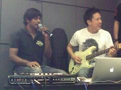 Jack and Rai , GarageBand '09 demo- 31/05/2009