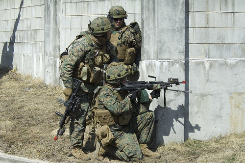US Marines train with Miles Gear