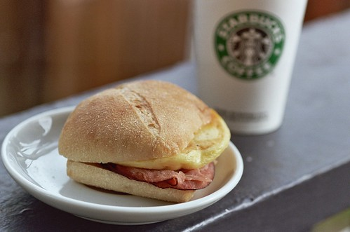 starbucks new 'breakfast pairings'